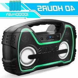 Bluetooth Speakers, AOMAIS 40-Hour Playtime Portable Outdoor