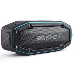 ZENBRE Bluetooth Speakers, D6 Bluetooth 4.1 Waterproof IPX6