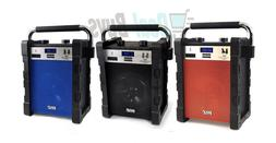 Bluetooth Wireless Rugged & Portable Speaker System, Work /