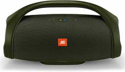boombox waterproof portable bluetooth speaker forest green