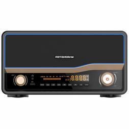 Monster Brand Retro Bluetooth Radio Qi Charger Bluetooth 4.0