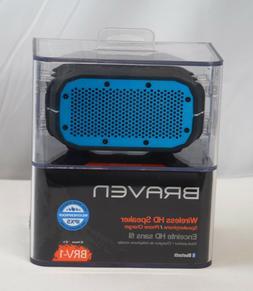 Braven BRV1BCB BRV-1 Portable Wireless Speaker, Black/cyan