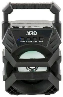 """QFX BT-1 3"""" Rechargeable Party Speaker +Bluetooth +USB/FM/AU"""