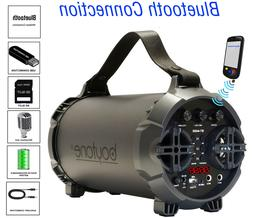 Boytone BT-44GR Portable Bluetooth Indoor/Outdoor 2.1 Hi-Fi