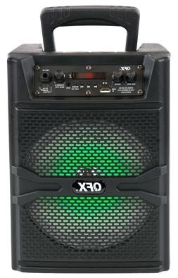 """QFX BT-88 8"""" Rechargeable PA Speaker System +Bluetooth +USB/"""