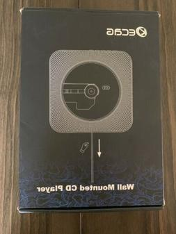 KECAG CD Player Wall Mountable Bluetooth Home Audio Built-in