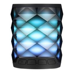 TOSOUND 6 Color Changing LED Themes Bluetooth Speaker, Recha