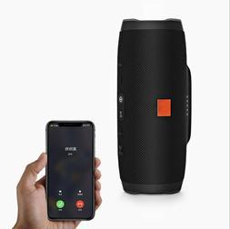 Charge 3+ Edition Portable Waterproof Black Bluetooth Speake