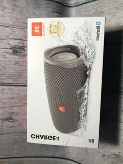 JBL Charge 4 Portable Bluetooth Speaker - Gray Stone