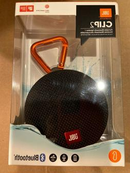 JBL Clip 2 Waterproof Portable Bluetooth Speaker  New