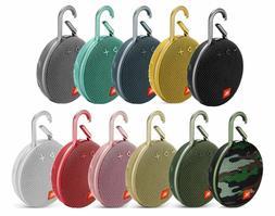 JBL Clip 3 Waterproof Bluetooth Speaker - Black Red Blue Gre