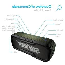 Sharkk Commando Wireless Bluetooth Speaker IP65 Waterproof 6