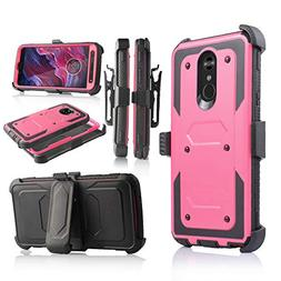 Compatible for LG Stylo 4 Phone Case,   Full-Body Heavy Duty