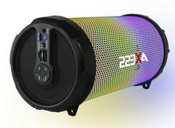 """Axess Disco LED HiFi 2.1 Bluetooth with 3"""" Subwoofer Speaker"""