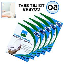 Disposable Toilet Seat Covers, Travel, Office, Potty Trainin
