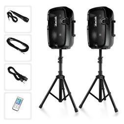 Dual Loudspeaker Sound Package, 8''  Subwoofers, Bluetooth,