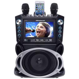 DVD CD SD USB MP3 PLAYER & BLUETOOTH SPEAKER Portable Karaok