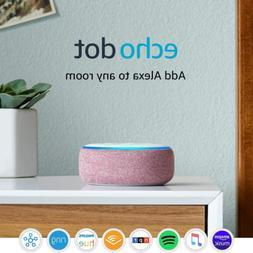 Echo Dot  - Smart speaker with Alexa - Plum