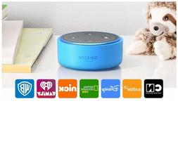 Echo Dot Kids Edition, a smart speaker with Alexa for kids -