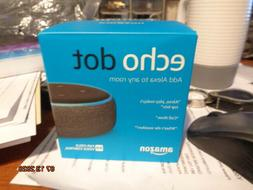 Echo Dot (amazon - Smart Speaker With Alexa Charcoal Devices
