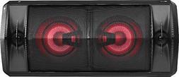 "LG FJ5 Dual 5-1/4"" Powered Wireless 2-Way Speaker  - Black"
