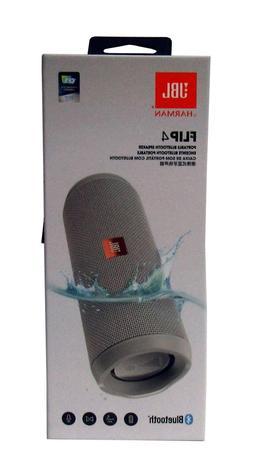 JBL Flip 4 Waterproof Portable Bluetooth Speaker Grey - Seal