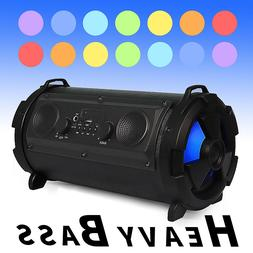 FM Portable bluetooth Speaker Wireless Stereo Loud Super Bas