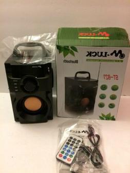FM Radio,Portable Indoor/Outdoor Wireless Bluetooth Speaker,