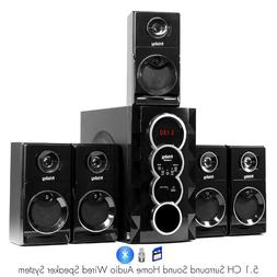 Frisby FS-5030BT 5.1 Surround Sound Home Theater Speakers Sy