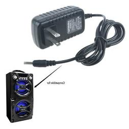 Generic AC Adapter Charger for Sylvania SP328 Black Portable