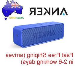 Genuine Anker SoundCore Portable Bluetooth Speaker - Blue AU