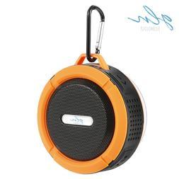 Gln Waterproof Bluetooth Shower Speaker Portable Wireless Sp