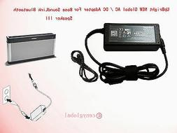 Globe AC Adapter For Bose SoundLink Bluetooth Speaker III 3