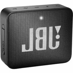 JBL GO 2 Portable Bluetooth Waterproof Speaker Black