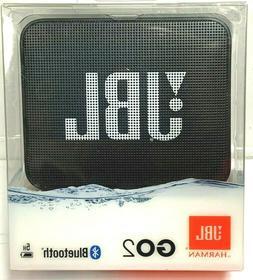 JBL GO 2 Waterproof Portable Wireless Bluetooth Speaker BLAC