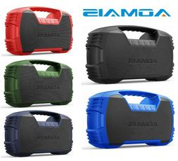 Aomais Go Bluetooth Speakers,Waterproof Portable Indoor/Outd