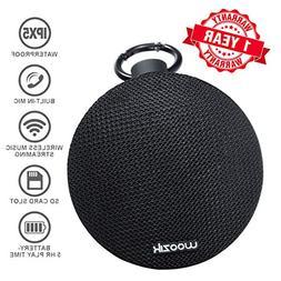 Woozik GO Portable Bluetooth Speaker - Clip-on, Mini, Shockp