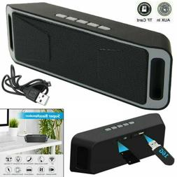 GRAY BLUETOOTH WIRELESS SPEAKER PORTABLE STEREO FOR SAMSUNG