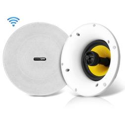 Pyle Home In-Ceiling Speaker w/Built-in Bluetooth,WiFi Wirel