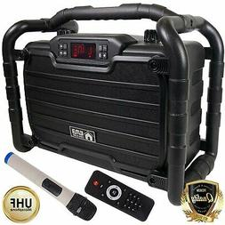 EMB PKL490BK-PK1 300W Power Box Jobsite Bluetooth Stereo Rec