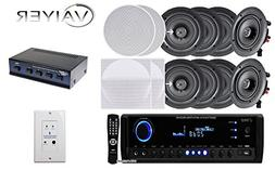 "New Vaiyerkits Home Theater System,  150W 5.25"" In-Wall / In"