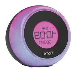 iHome iBT290B Bluetooth Color Changing Dual Alarm FM Clock R