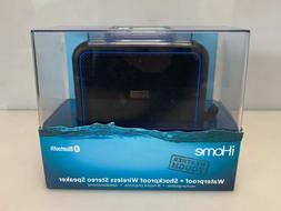 iHome iBT35BLC iBT35 Waterproof + Shockproof Speaker Black/B