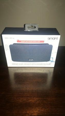 iHome Ibt39 Portable Waterproof Stereo Bluetooth Speaker Wit