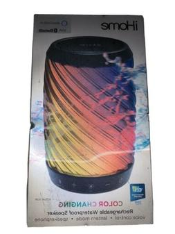 iHome iBT621 Waterproof Bluetooth Speaker with Voice Control