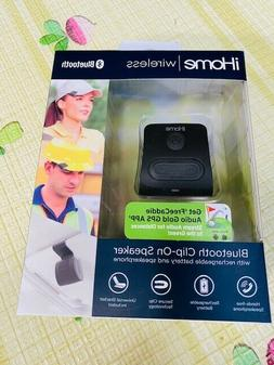 iHome iWBT1 Clip-On Bluetooth Speaker