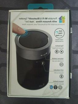 iLuv AUD Click Portable WiFi & Bluetooth Speaker W/ Amazon A