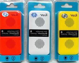 iLuv Aud Mini Slim portable Bluetooth speaker Universal & wi