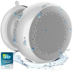 iLuv Portable Water Resistant Rechargeable Bluetooth Shower