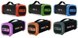 Axess Indoor/Outdoor Bluetooth FM Radio Media Speaker SPBT10